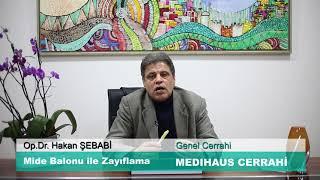 Mide Balonu ile Zayıflama - Op.Dr. Hakan ŞEBABİ