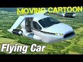 Moving cartoon I Flying car
