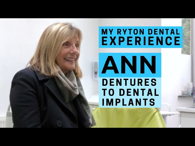 Ann's Journey - From Dentures to Dental Implants