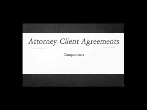 How To Draft An Attorney-Client Agreement
