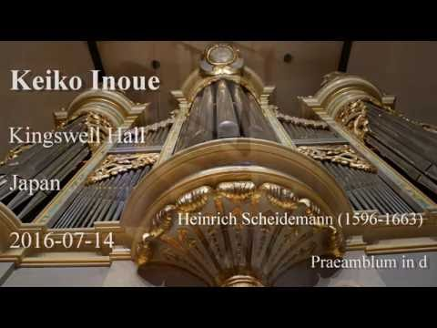 Keiko Inoue live recording at Kingswell Hall.