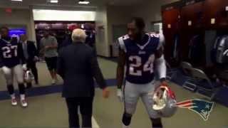 New England Patriots Post Game Locker Room Speech vs Ravens 1/10/15