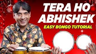 Tera Ho Abhishek Aman Ke Rajkumar - Easy Bongo Drum Lesson   Hindi Christmas Songs   Yeshu Ke Geet
