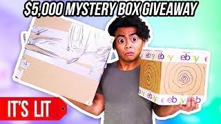 $25 VS $5000 EBAY MYSTERY BOX! (Giveaway)