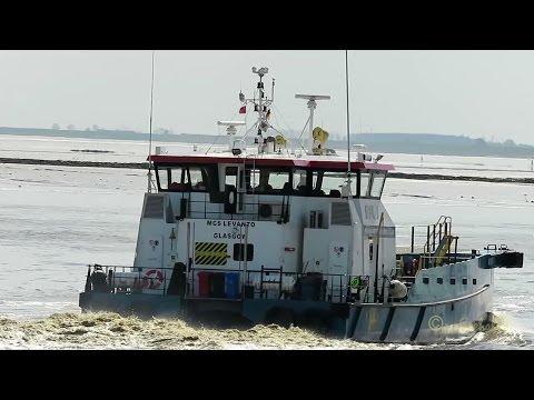 offshore crew speedboat MCS LEVANTO 2GDR7 IMO 9679086 Emden seabound