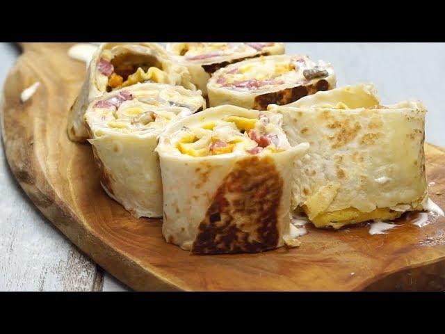 Kahvaltılık Wrap Tarifi, Nasıl Yapılır?