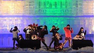 20180210 第69回 さっぽろ雪まつり 北海道ご当地アイドル フルーティー.
