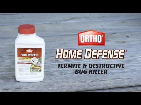 How To Kill Termites Using Ortho® Home Defense MAX® Termite & Destructive Bug Killer
