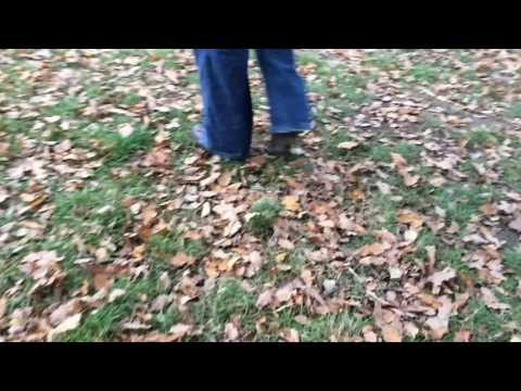 hiking-heeled-boots-with-spikes-walking-in-woods