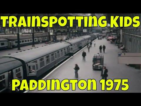 Trainspotting Kids, Paddington Station 1975