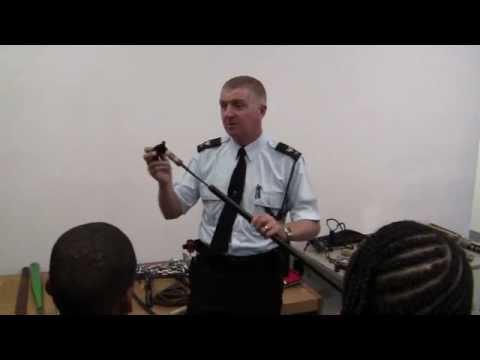 Prohibited Weapons Demo Sgt Paul Watson Bermuda December 9 2011