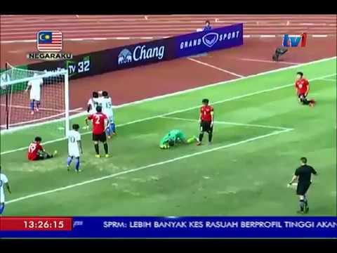 PUSINGAN AKHIR BAWAH 23 TAHUN AFC - MALAYSIA TEWASKAN MONGOLIA 2-0 [24 JUL 2017]
