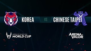 KR vs. TPE | Semifinals Stage Day 6 | AWC 2018