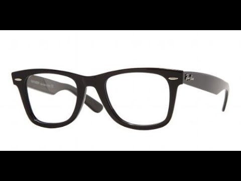 452bf32833 Unboxing - review - Ray Ban RX 5121 RX5121 2000 shiny black eyeglasses