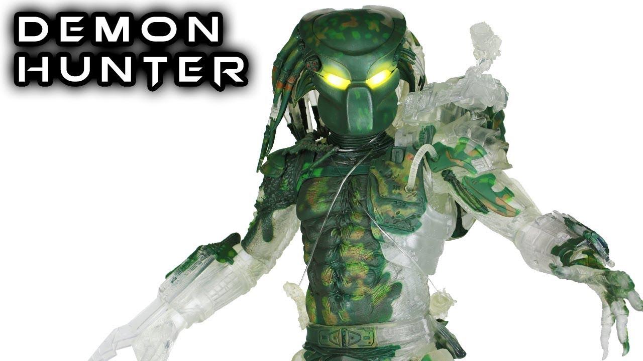 """NECA Predator Jungle Demon 7/"""" Action Figure 30th Anniversary Collection New"""