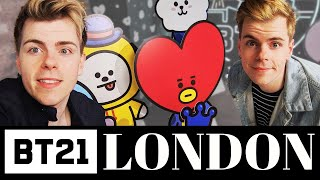 BT21 Pop Up Store in London | Vlog