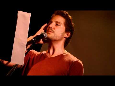 Opening the Poem: Song of the Answerer (Walt Whitman) - Ernesto Estrella Cózar, 12.10.11, NYC