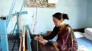 Ethnic Textile Traditional Dhaka Weaving by Limbu Women