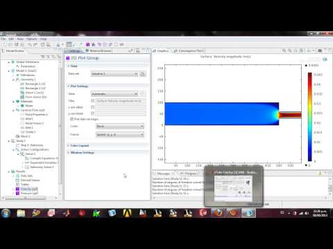 comsol tutorial Tutorial demonstrates how to set up a text file with experimental data and import it into comsol reaction engineering lab.