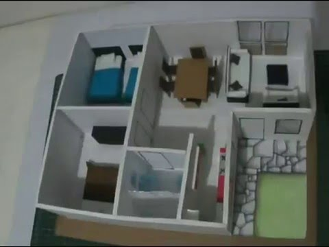 C mo hacer una maqueta simple repeatvid - Como hacer una maqueta de una casa ...