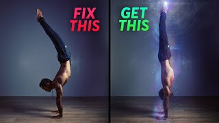 Why You Can't Handstand Straight | Top 5 Exercises Ft. FitnessFAQs