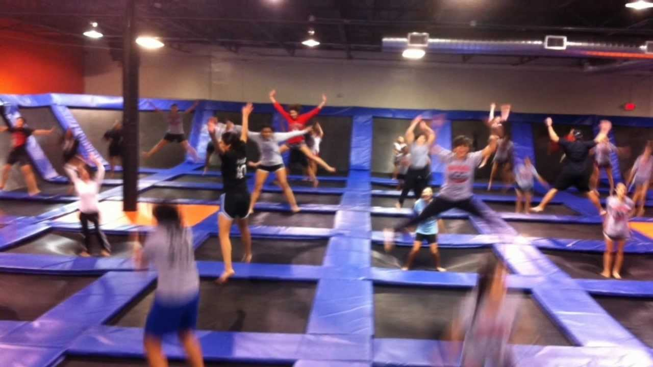 Urban Air Trampoline Park Dallas Fort Worth Youtube