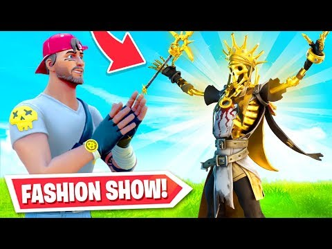 *new* Fortnite Fashion Show! Best Skins = Prizes