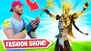 *NEW* Fortnite FASHION SHOW! (BEST Skins = PRIZES)