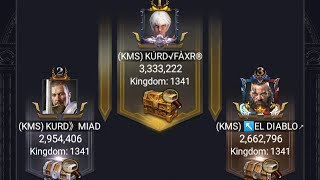 Clash of kings - Shadow dragon- hestal how to earn  points + best formation.