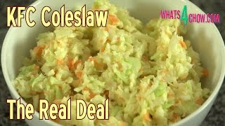 How To Make Kfc Coleslaw - Kfc Coleslaw Recipe, The Real Deal!!!
