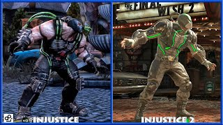 INJUSTICE - BANE Graphic Evolution 2013-2017 | PS4 |