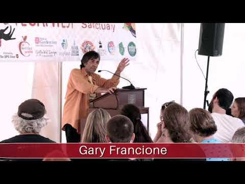 Asheville VeganFest 2017 - Gary Francione