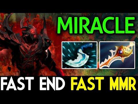 Miracle- Dota 2 [Shadow Fiend] Fast END Fast MMR