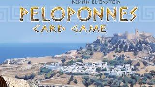 Как играть в настольную игру Peloponnes (Iron Games). На русском языке. How to play Peloponnes.