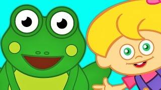 Küçük Kurbağa | Bebek Şarkıları | Sevimli Dostlar | Çizgi Film Çocuk Şarkıları | Adisebaba TV
