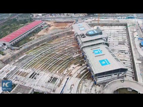 Cómo mover un edificio de 30.000 toneladas