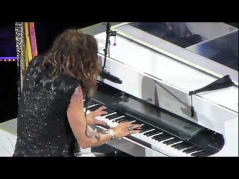 "Aerosmith ""Dream On"" Live- TD Garden- Boston MA- 7.17.2012 T.Rob"