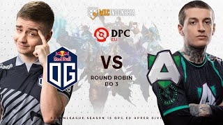 [Dota 2 Live] OG vs Alliance | DreamLeague Season 15 DPC Western Europe Upper Division