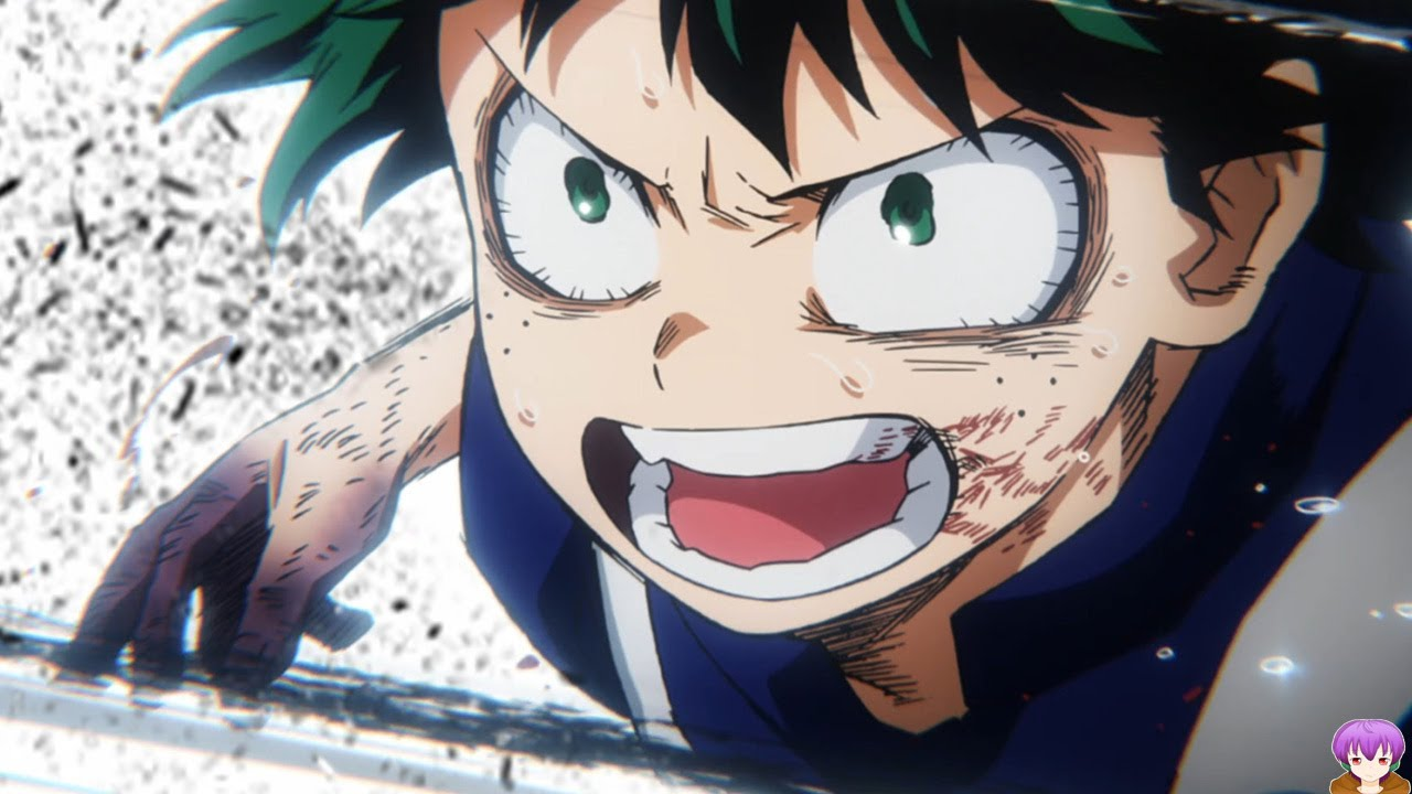 Todoroki Vs Izuku Hands Down Best Fight Yet