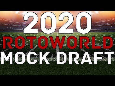 Fantasy Football 2020: FULL MOCK DRAFT   Rotoworld