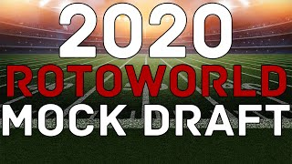 Fantasy Football 2020: FULL MOCK DRAFT | Rotoworld