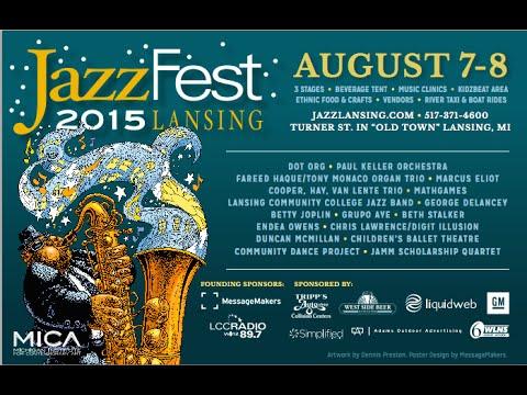 Vlog: Lansing Jazz Fest