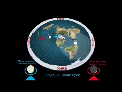 FLAT EARTH ADDICT 66 : Moon Phases On Our Flat Earth by MOONRAKER