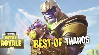 FORTNITE BEST THANOS PLAY EVER!! - Fortnite Battle Royale WTF & Funny Moments Episode. 148