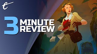 Call of the Sea | Review in 3 Minutes (Video Game Video Review)