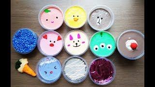 Slime Smoothie | Slime Gấu Brown Và Thỏ Cony | Chơi Slime Thư Giãn - Cực Dễ Thương