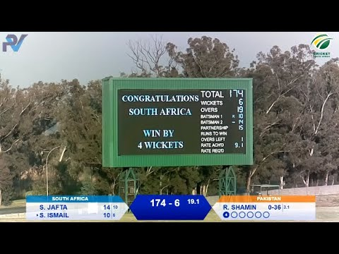 Women's Cricket - South Africa vs Pakistan 4th T20I - Live from Willowmoore Park