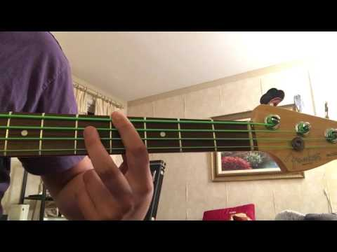 How to play gin and juice on bass