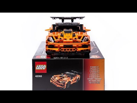 2019 LEGO Technic 42093 Chevrolet Corvette ZR1 quick ...