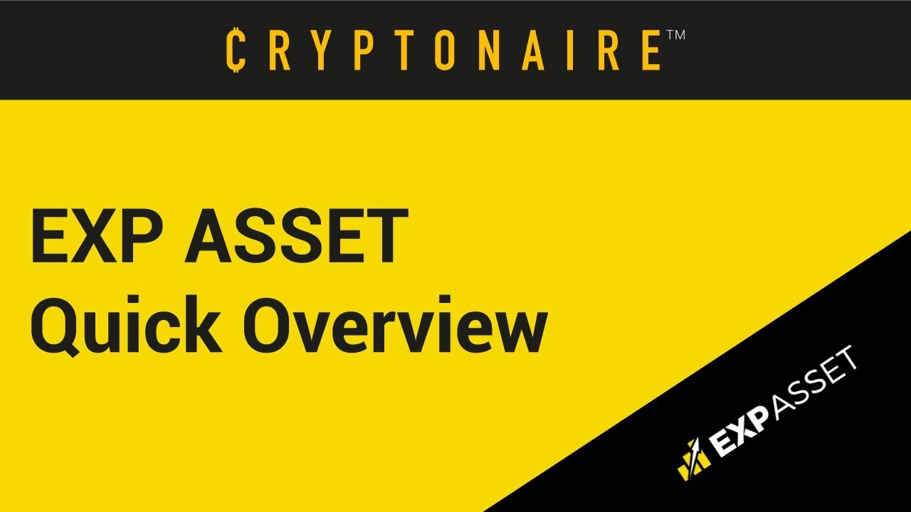 EXP ASSET - IS IT A REAL CRYPTO BUSINESS...OR A DIRTY SCAM?